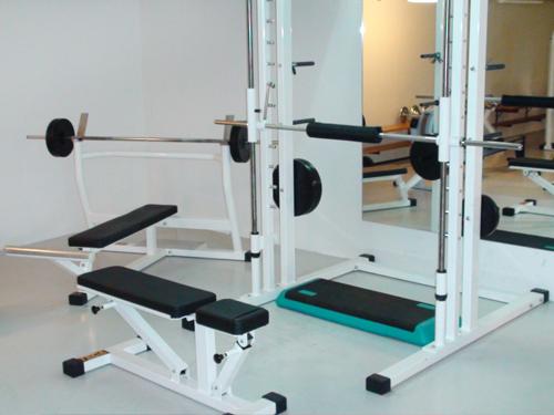 Fitnessmaskiner  i Pusterumet