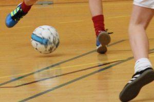 indendørs fodboldt